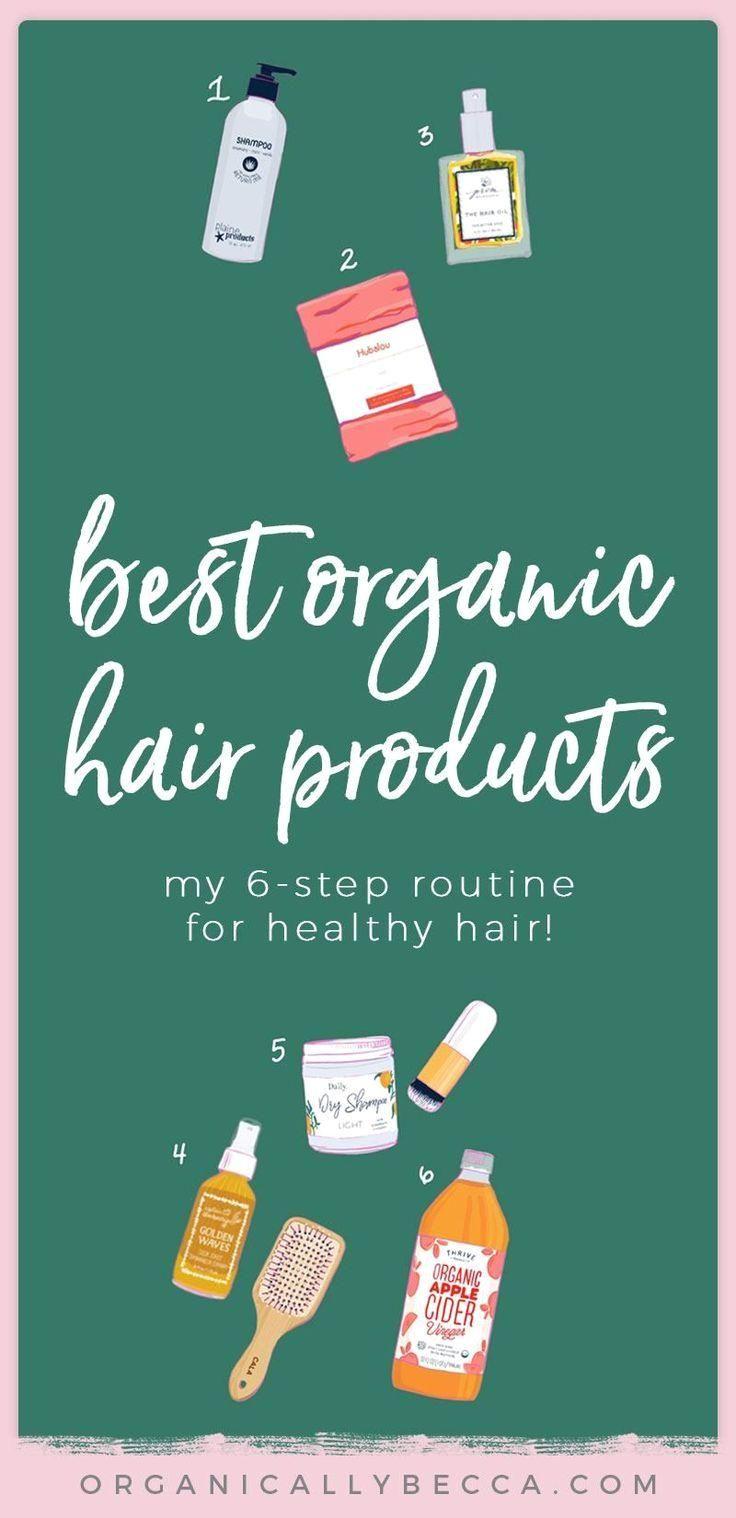 #organichaircare My 6-Step Organic Hair Care Routine (Low Maintenance!) • Organically Becca #Organic, #Maintenance My 6-Step Organic, Low Maintenance Hair Care Routine