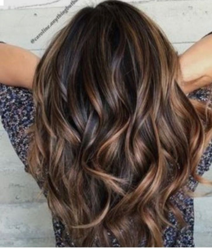 Brunette Balayage Easy Hairstyles Chocolate Brown Hair