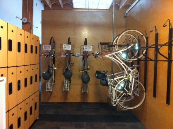 Have Your Bike And Park It Too Room Indoor Bike Rack And Apartments