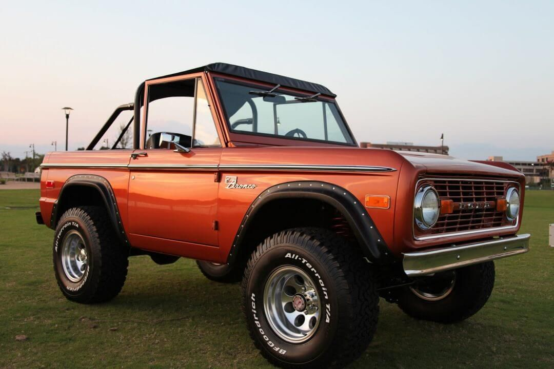1976 Classic Ford Bronco Sport Velocity Restorations
