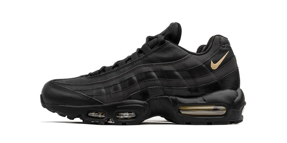 Nike Air Max 95 Premium SE Drops in Black & Gold | CHIHILOG