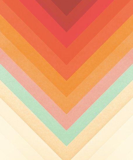 Rainbow Chevrons Poster By Florent Bodart Rainbow Chevron Chevron Frames Chevron Art Print