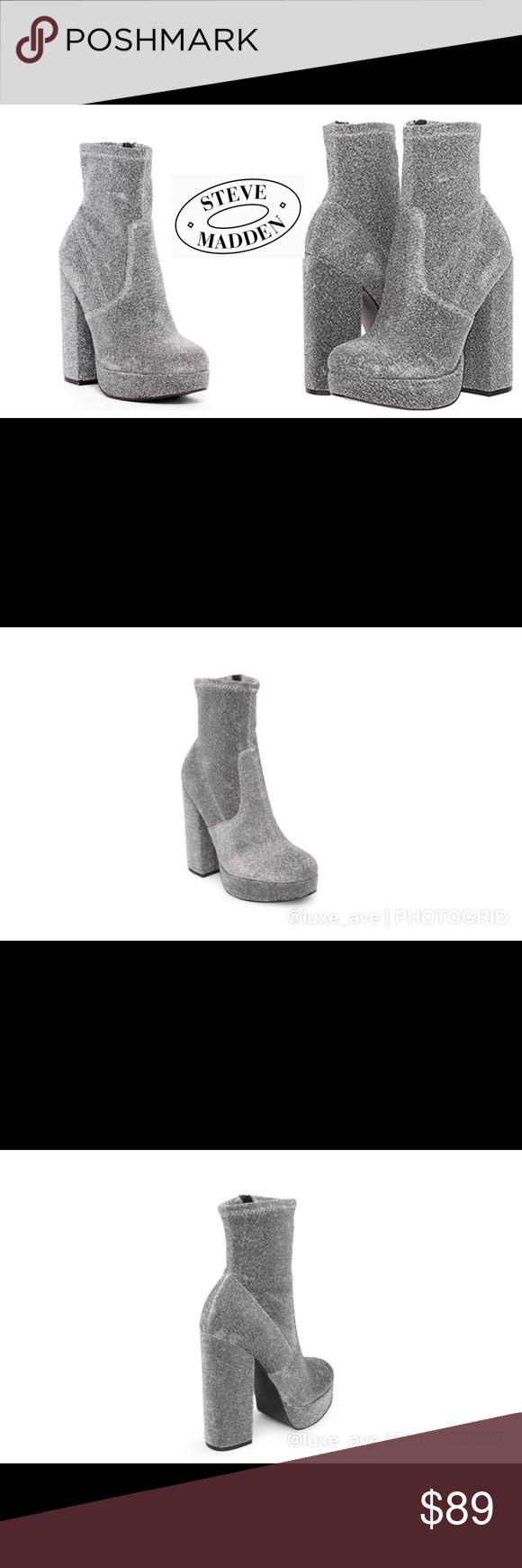 08a15cb995b8 Steve Madden Stardust ⭐ Platform Fashion Boots Steve Madden Stardust Fashion  Boot. Rock out