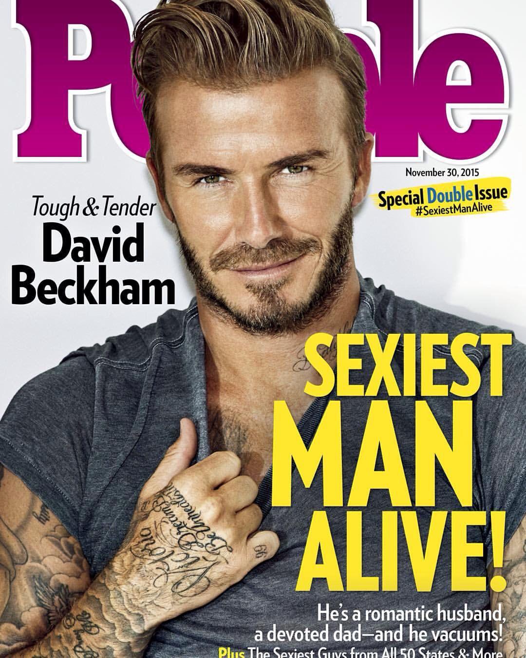 2019 year for women- Alive man sexiest david beckham