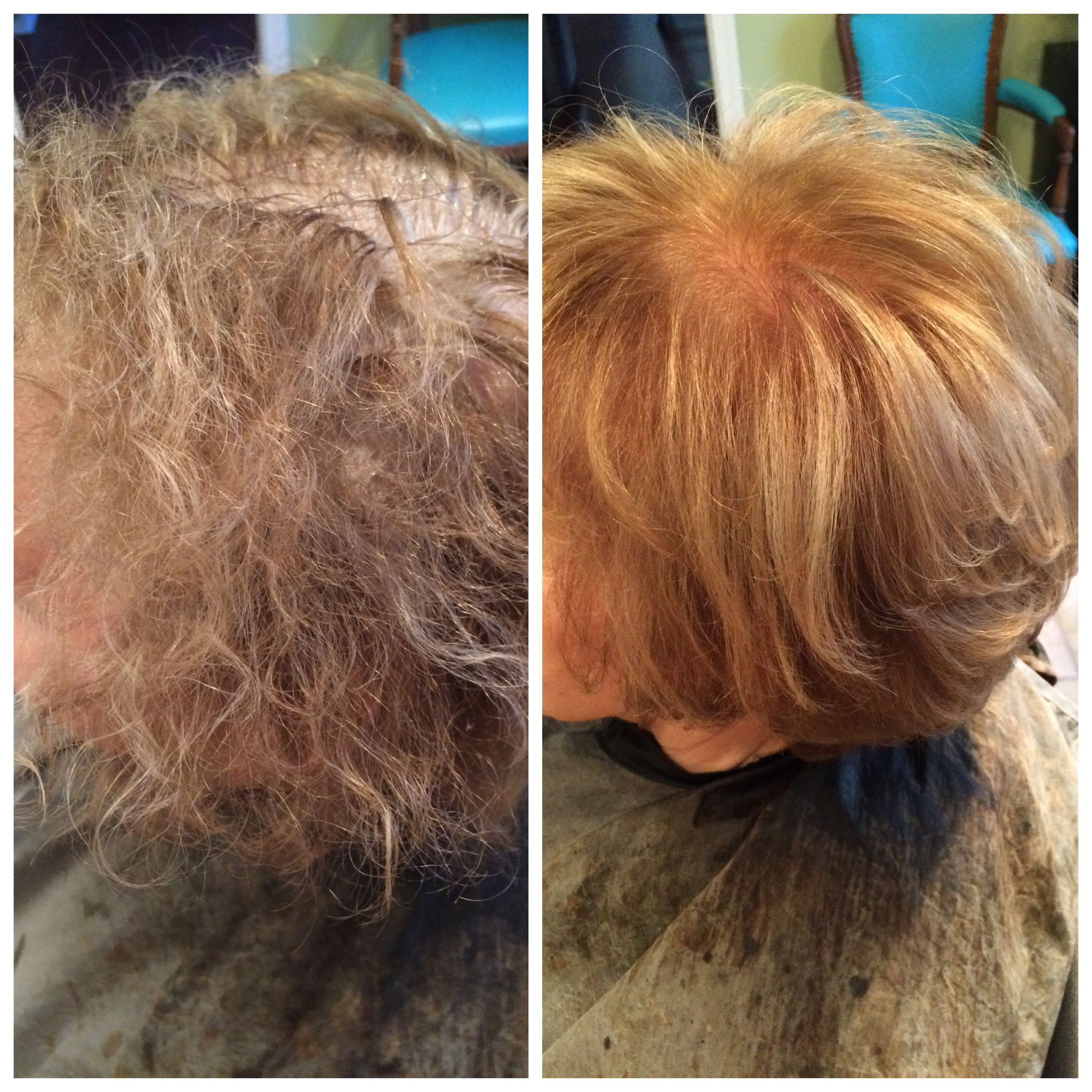 Perm Damaged Hair Repaired With Olaplex Perm Damaged Hair Damaged Hair Repair Damaged Hair