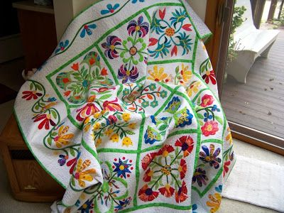 Attic Window Quilt Shop: HOW DOES YOUR GARDEN GROW!