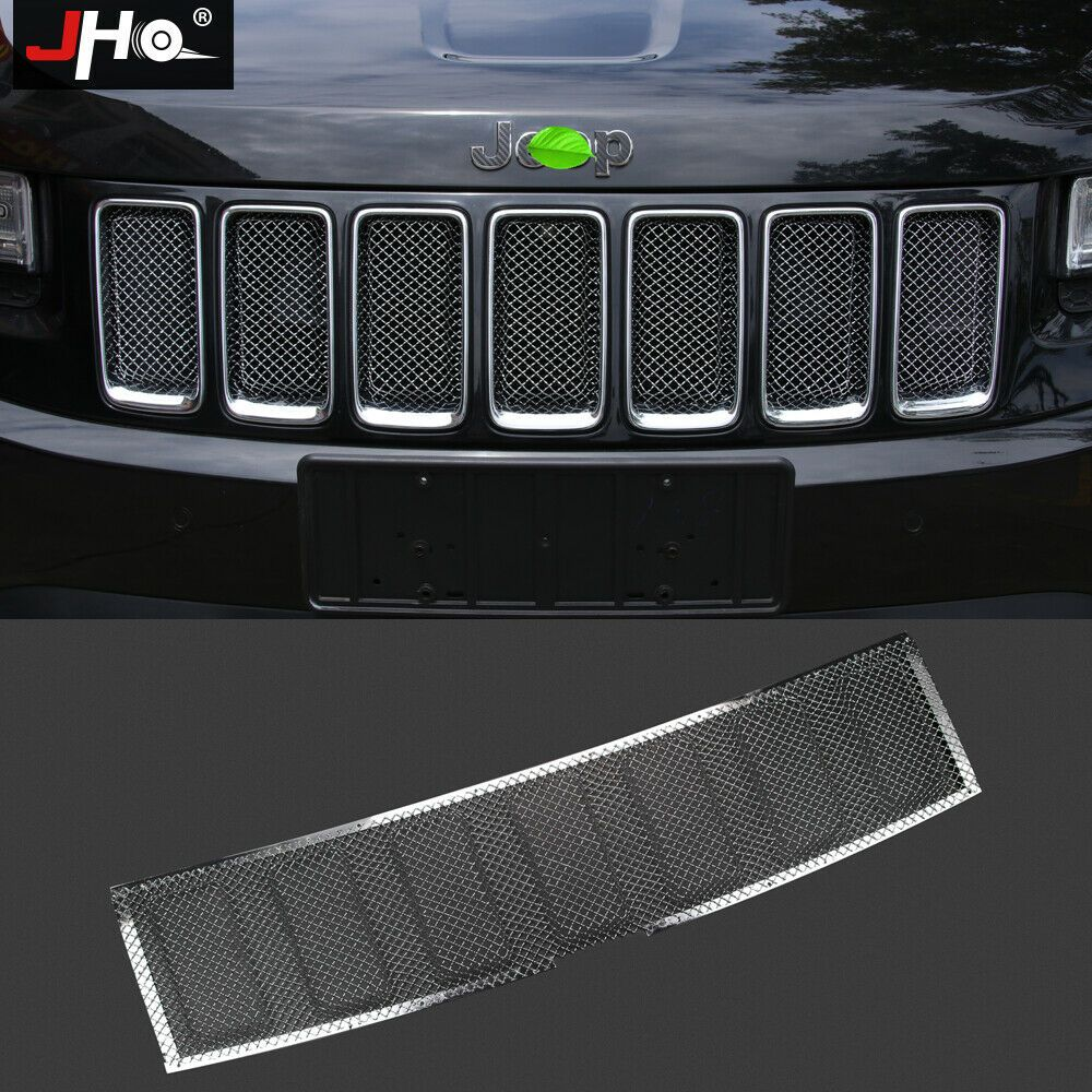 Front Grille Metal Mesh Anti Insect Radiator Guard For Jeep Grand Cherokee 14 16