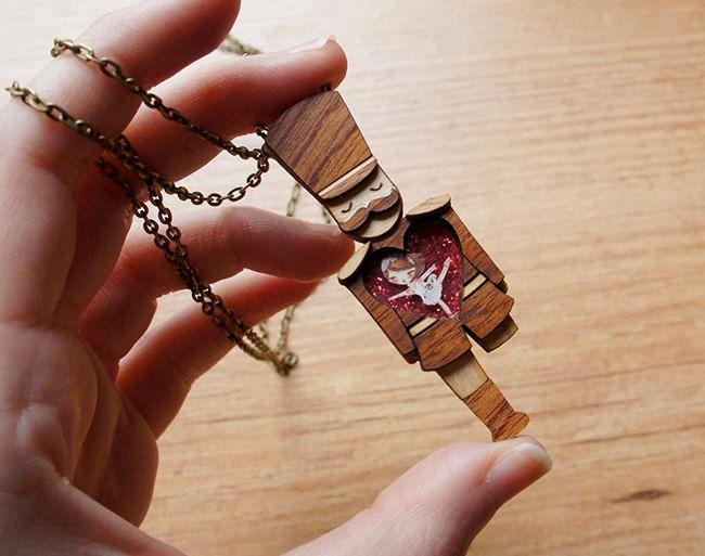 Tin Soldier necklace. / Collar Soldadito de by LaliblueShop