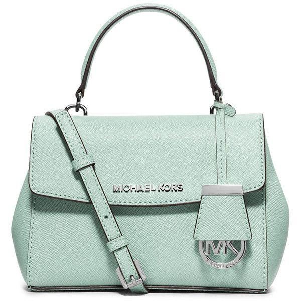 c6591da68d4f ... MICHAEL Michael Kors Ava Extra-Small Crossbody Bag (12.765 RUB) ❤ liked  on ...