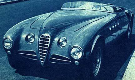 Alfa Romeo 412 Vignale-1951 Vignale Spider