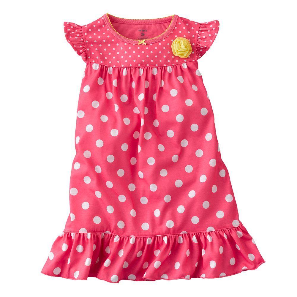 Carter's Polka-Dot Nightgown - Toddler