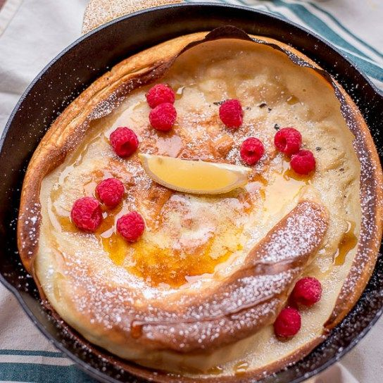 Shake and Bake German Pancake