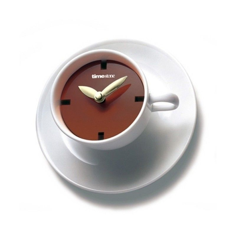 Best 25 creative clock ideas teacup wall clocks and clocks - Coffee themed wall clocks ...