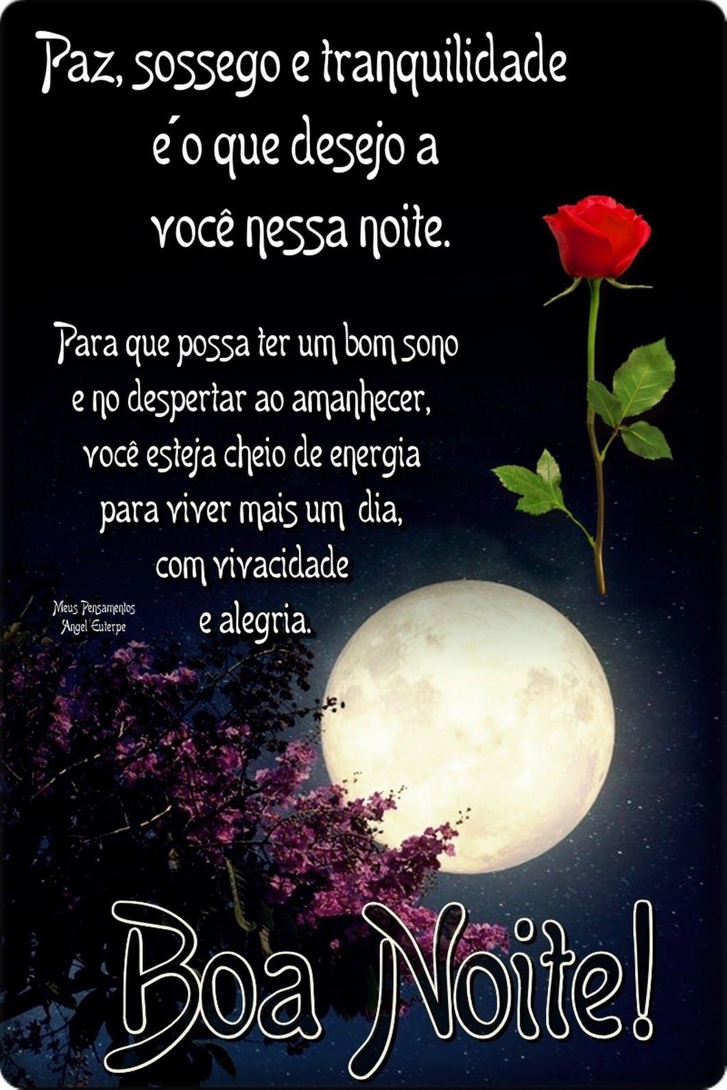 Pin De Lourice Azambuja Em Boa Noite Boa Noite Especial