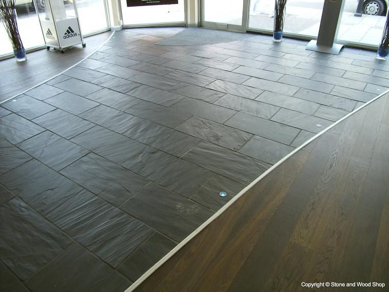 brazilian black slate stone flooring