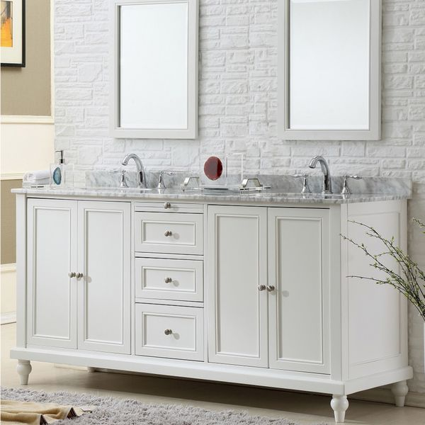 Direct Vanity Sink 70 Inch Classic Double Vanity Sink Cabinet