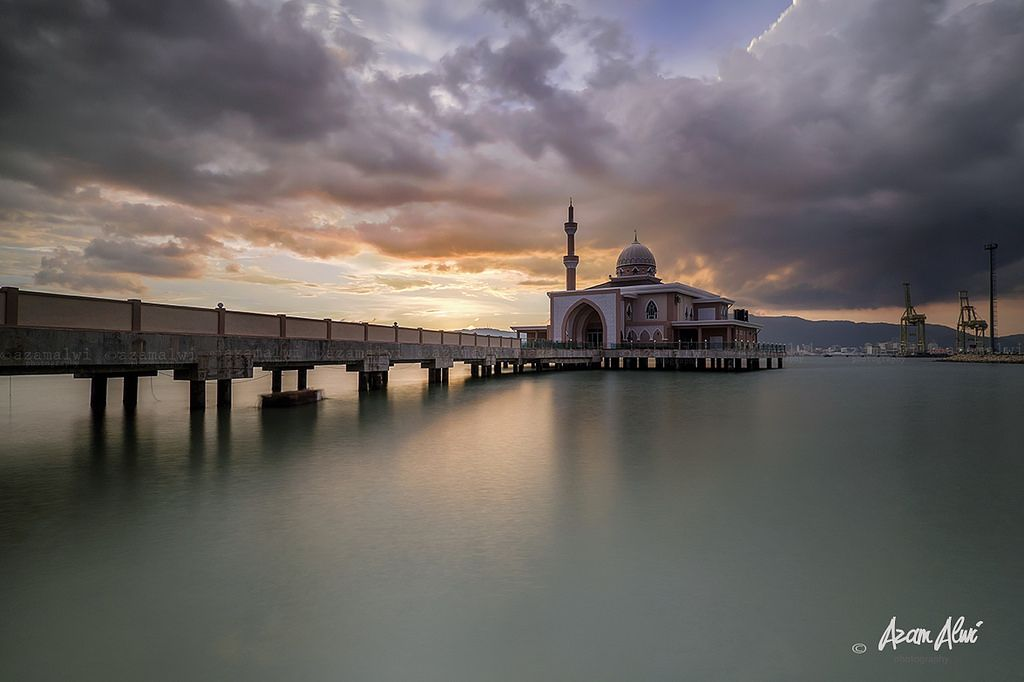 Floating Mosque, Butterworth, Penang, Malaysia
