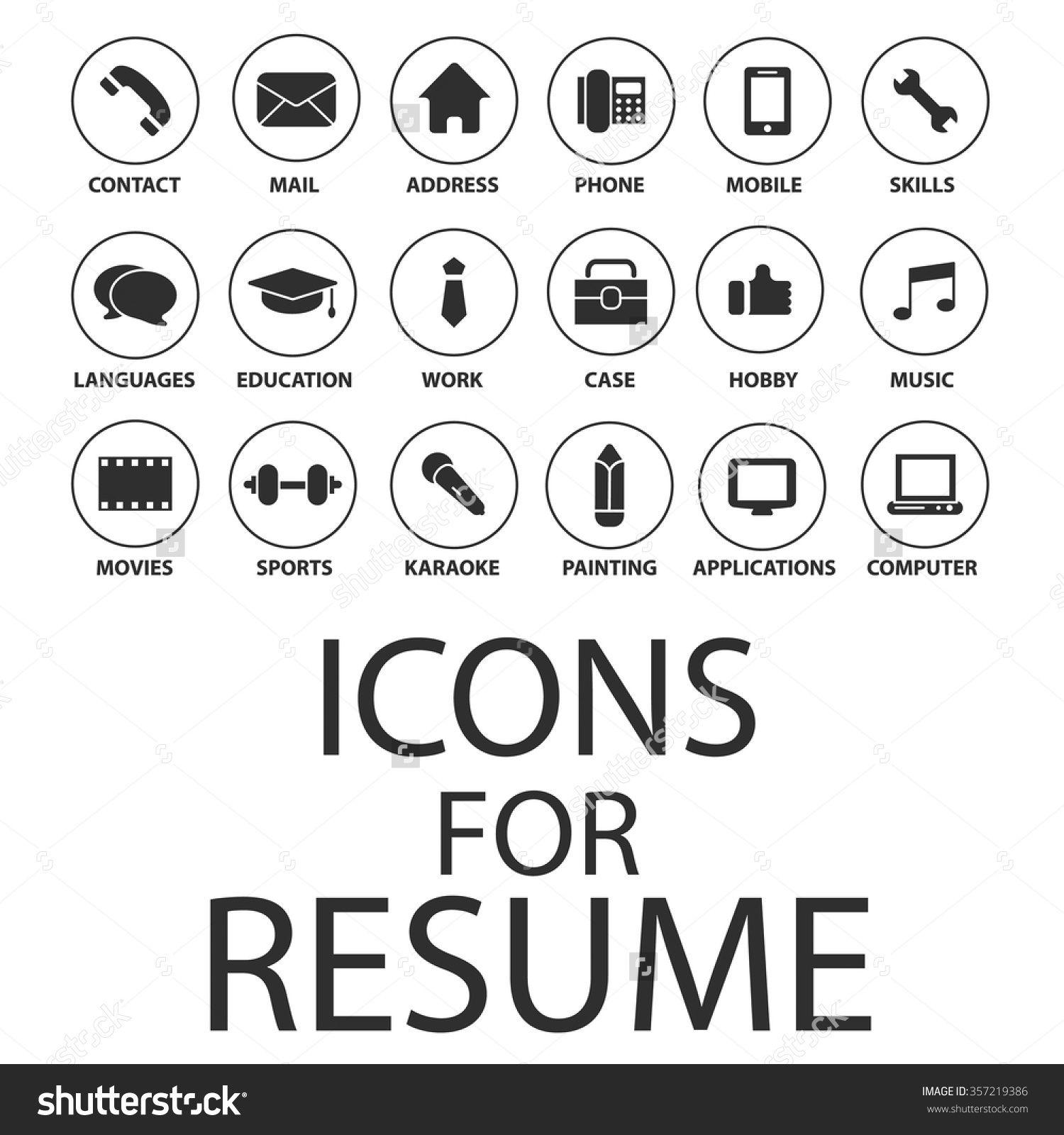 cv symbole experience professionnelle