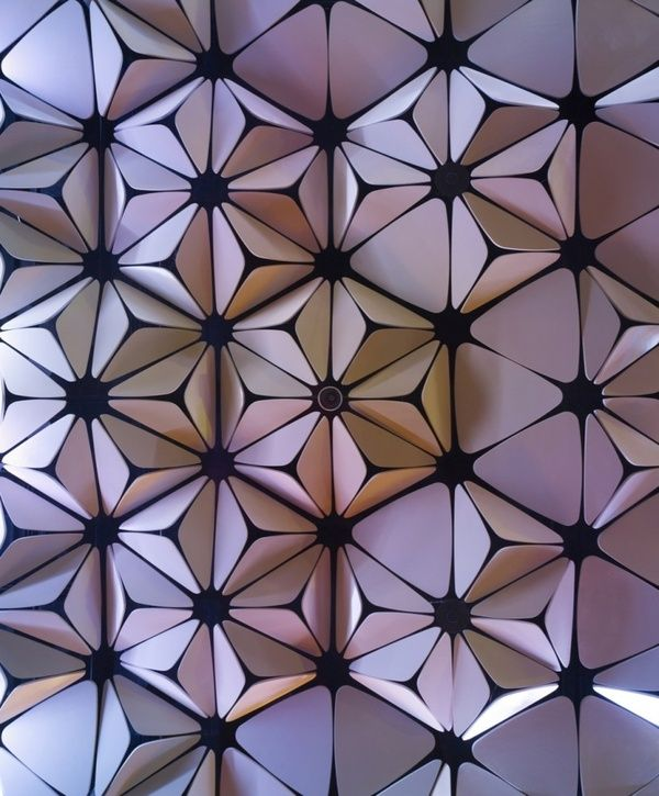 Detailsorientedbyshapepluspace ceiling pattern belzberg for Polygon produktdesign