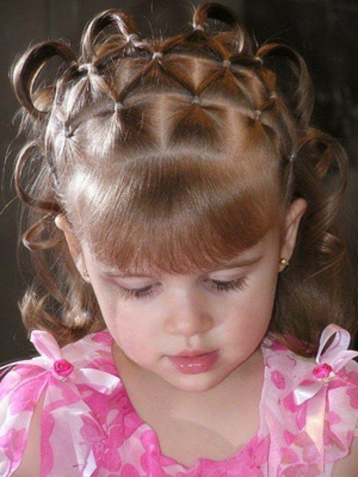 coiffure petite fille cheveux court Recherche Google