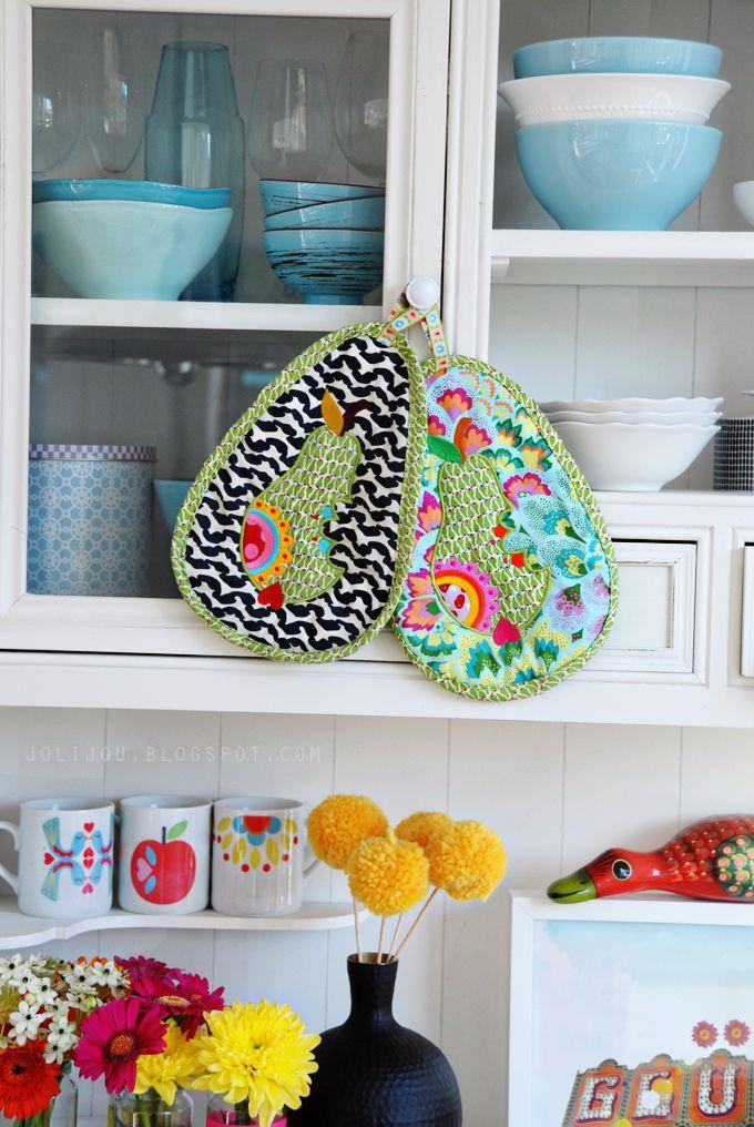 DIY pot holders | Pot Holder | Pinterest | Potholders, Apron and Crafty