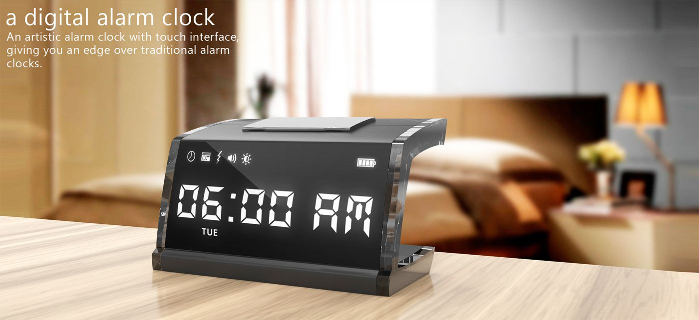 Alarm Clock That Gives You An Electrical Shock To Wake Your Butt Up