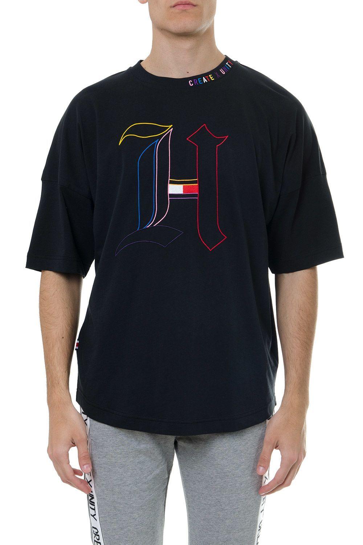 Tommy Hilfiger Black Cotton Lewis Hamilton Monogram T Shirt Tommyhilfiger Cloth Monogram T Shirts Tommy Hilfiger T Shirt Polo T Shirts [ 1500 x 1000 Pixel ]