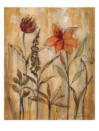 Aquarelle Garden Ii Premium Giclee Print Silvia Vassileva Art Com In 2021 Art Prints Painting Prints Art