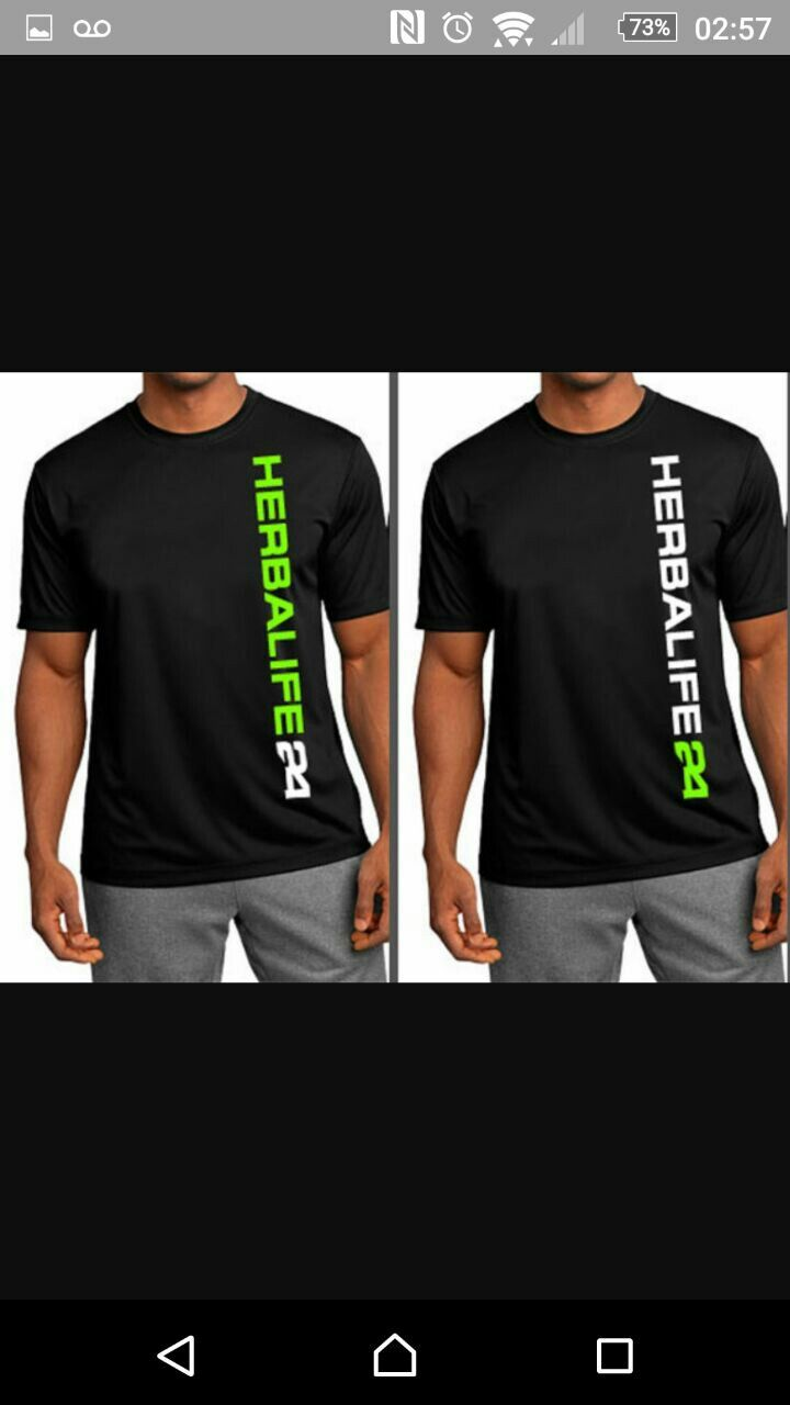 Men T Shirt H24 Herbalife Herbalife Clothing Mens Tops