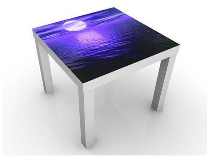 Beistelltisch Deep Moon Table Cube Side Table Round Side Table