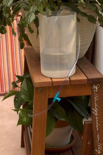 Elegant Balcony Irrigation System