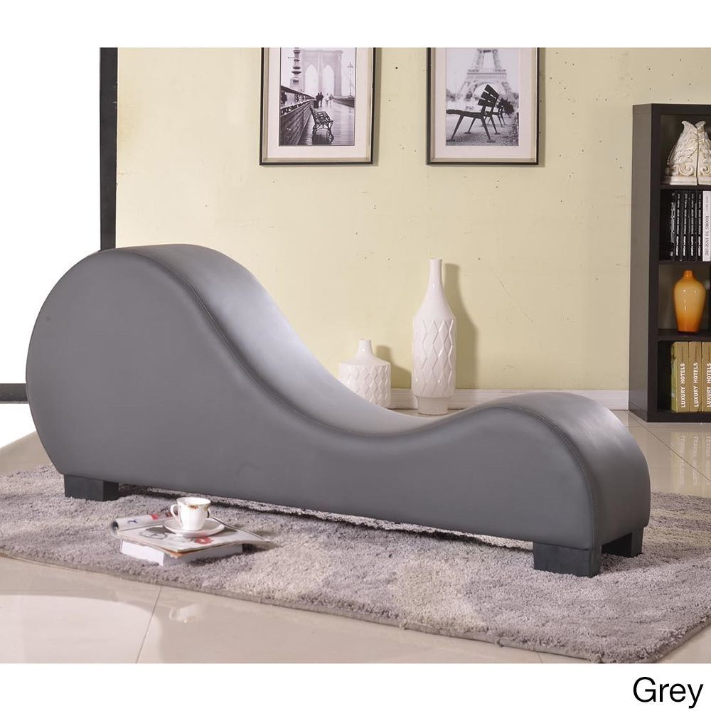 Yoga Sofa Cama Espuma Easy Us Pride Furniture Faux Leather Chair Stretch Chaise Relax Grey Fabric