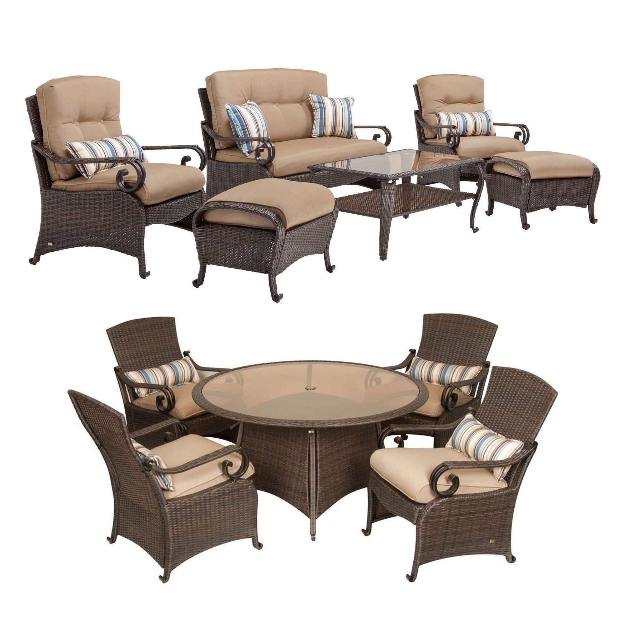 La Z Boy Outdoor Lake o Resin Wicker Patio Furniture bo 6