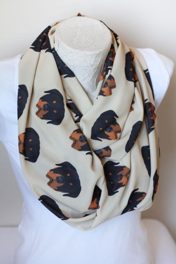 Rottweiler Scarf Dog Infinity Scarf Loop Pet Mom Scarf Dog Lover Gift Spring Summer Women Fashion Accessories Gift For Her by dreamexpress from dreamexpress on Etsy. Find it now at http://ift.tt/2ny0sZa!