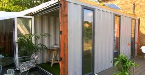 Amazing spaces with george clarke transform a shipping container shipping containers - Small spaces george clarke pict ...
