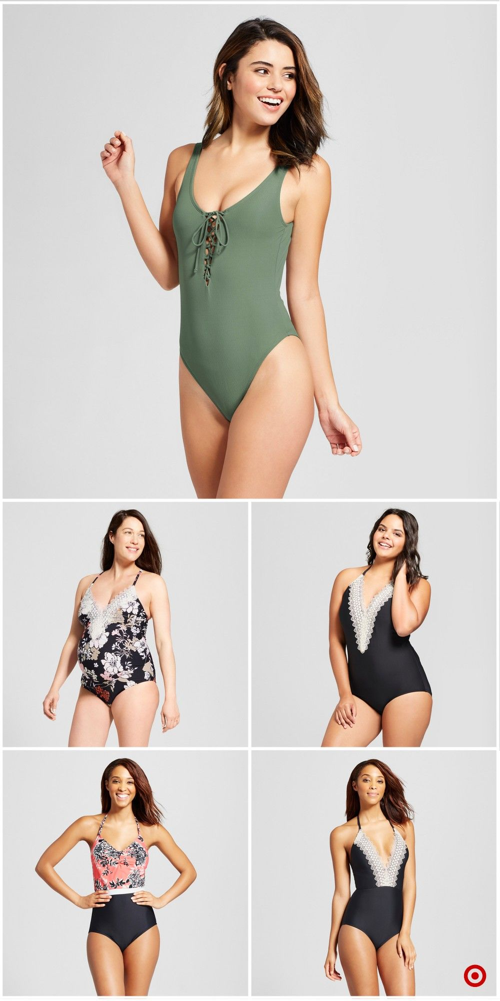 580a90f5517 Shop Target for one piece swimsuits you will love at great low prices. Free  shipping on orders of  35+ or free same-day pick-up in store.