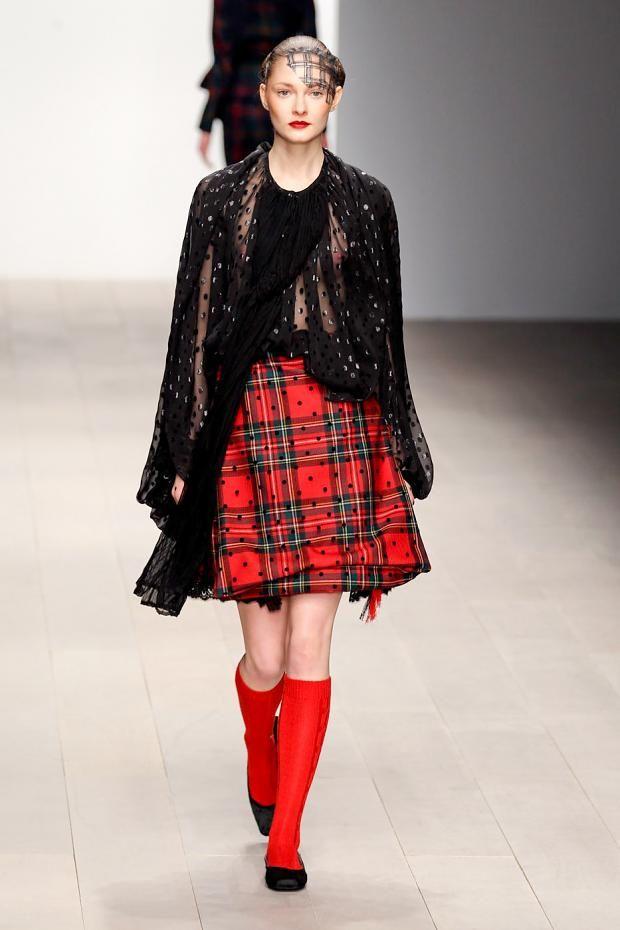 Corrie Nielsen's contemporary clanswoman. Autumn/ Winter 2012 @ London Fashion Week