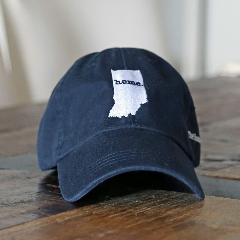 91b049b1db7 The Indiana Home Hat is a great way to show off your state pride