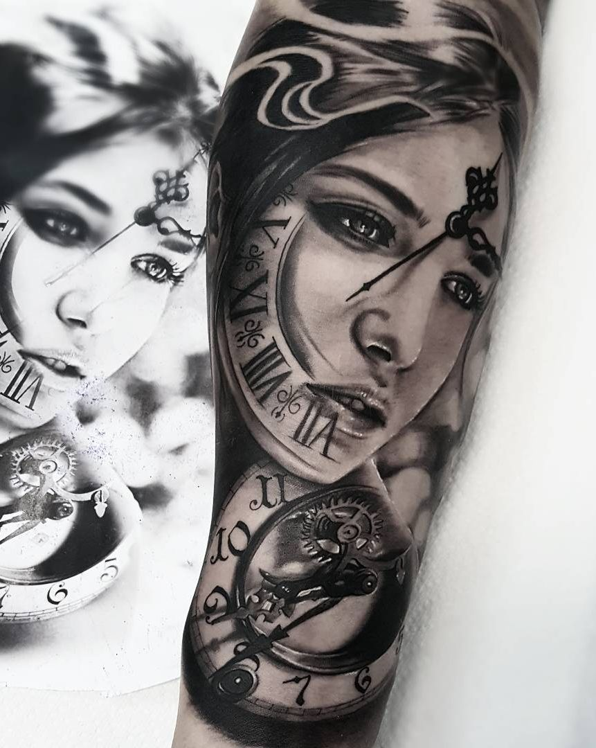 Realistic Tattoos With Morphing Effects By Benji Roketlauncha Cool Tattoos Tattoo Artists Tattoos