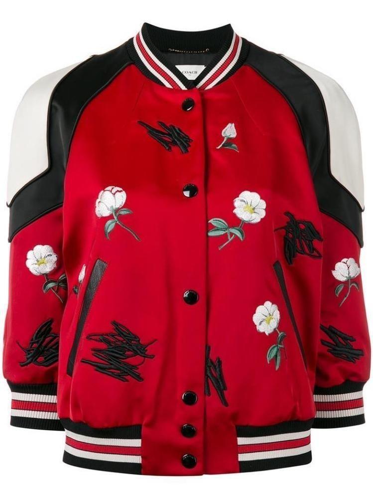 Women Ladies Floral Camouflage Striped Mermaid Designer Zipper Bomber Jacket New