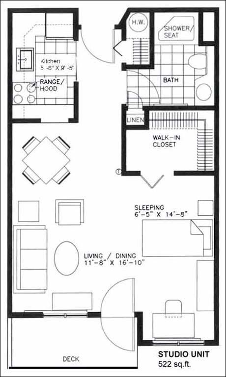 17 Best images about studio floor plan on Pinterest Tiny home
