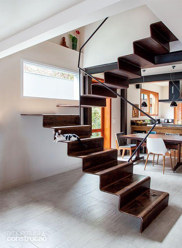 Escadas belas e funcionais Escalera, Escalada y Escaleras interiores