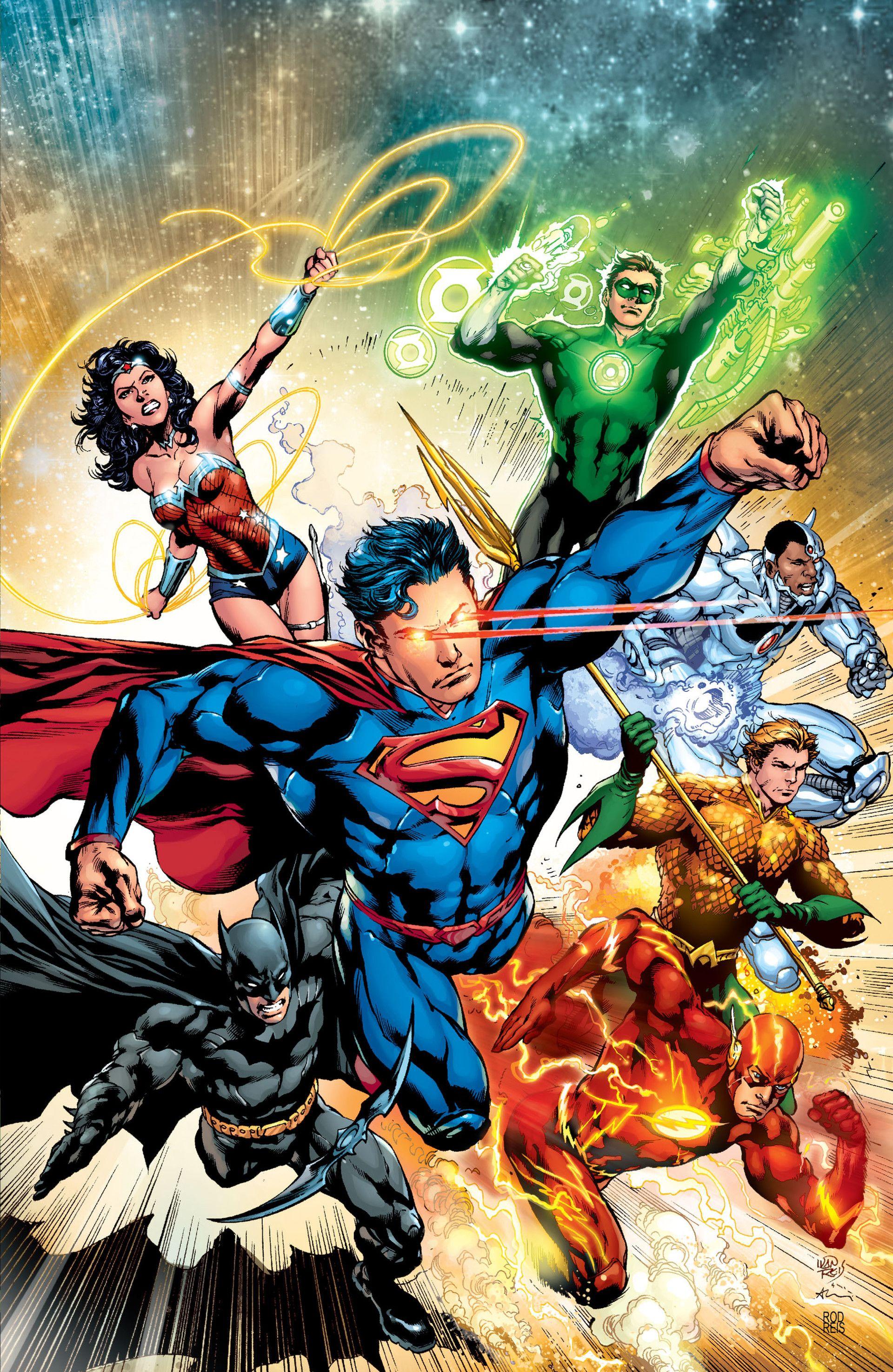 Dc Comics Justice League : Justice league vol comic and hero