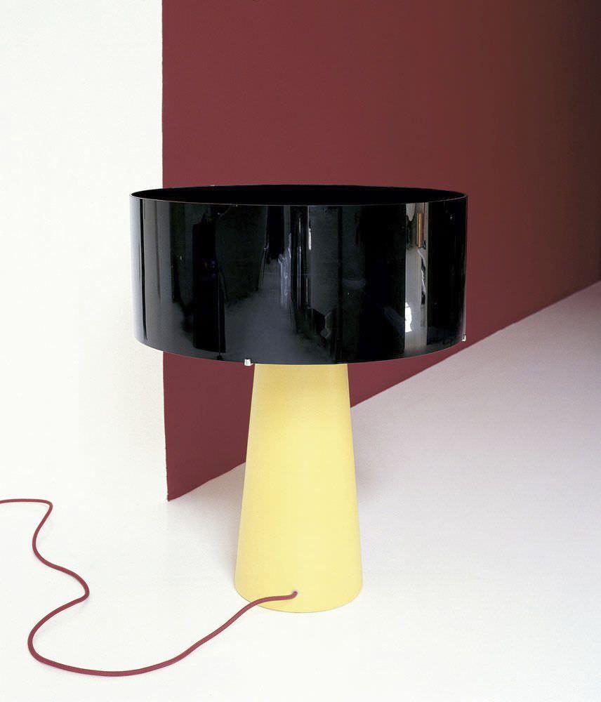 Abat Jour Design.Table Lamp Original Design By Ettore Sottsass Ceramic