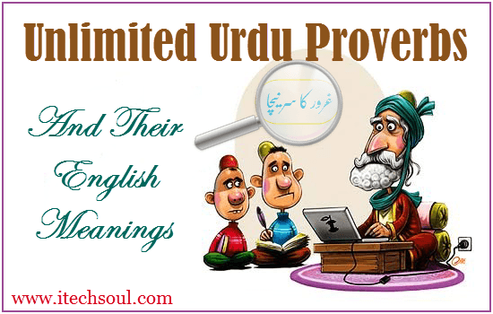 unlimited urdu proverbs and their english meanings with