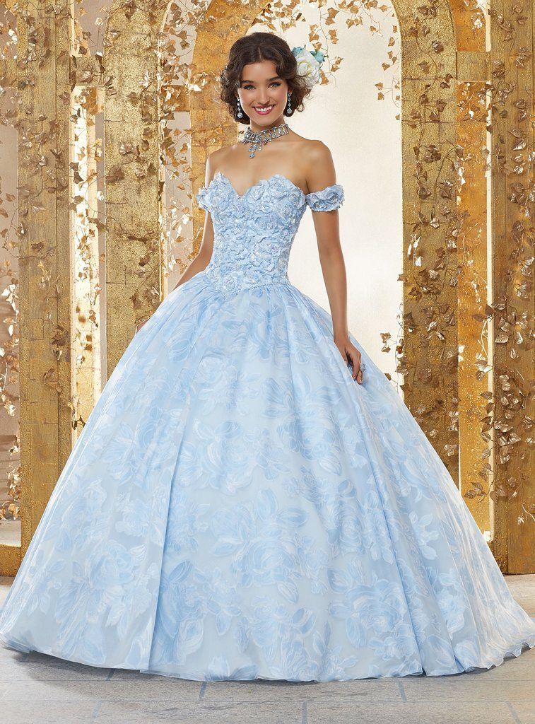 06ad6d083e1 Floral Print Sweetheart Quinceanera Dress by Mori Lee Vizcaya 89232-Mori  Lee Vizcaya-ABC