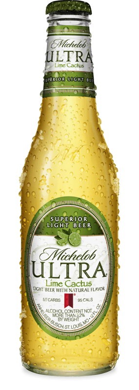 Michelob Ultra Lime Cactus Gold Peak Tea Bottle Michelob Ultra Natural Flavors