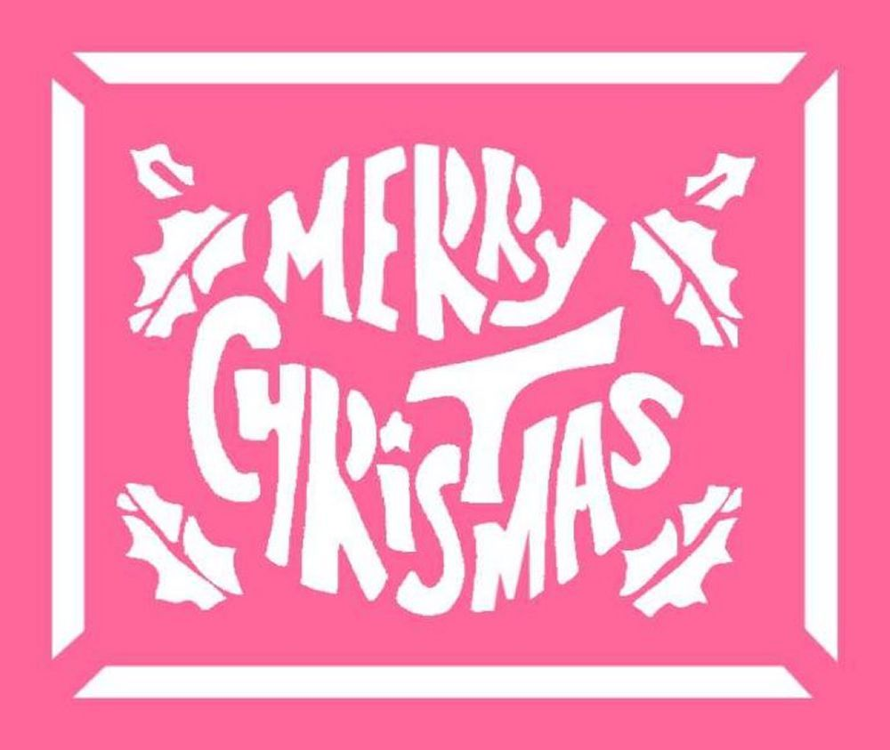 Uncategorized Christmas Stencil Patterns christmas window stencils design google search jolly tidings free advent craft ideas for children to cut out
