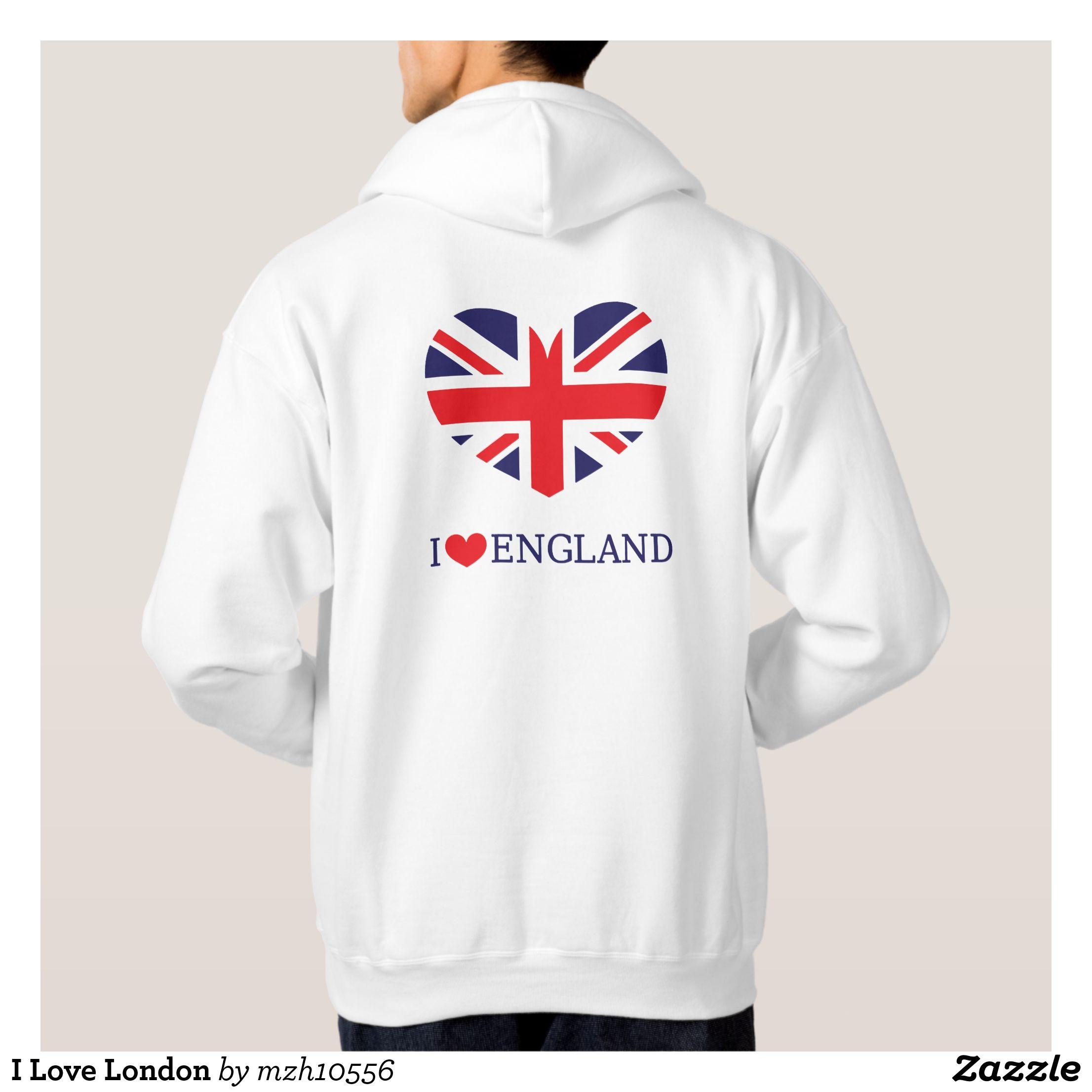 I Love London famoso design di alta qualità sweetshirt hoodies