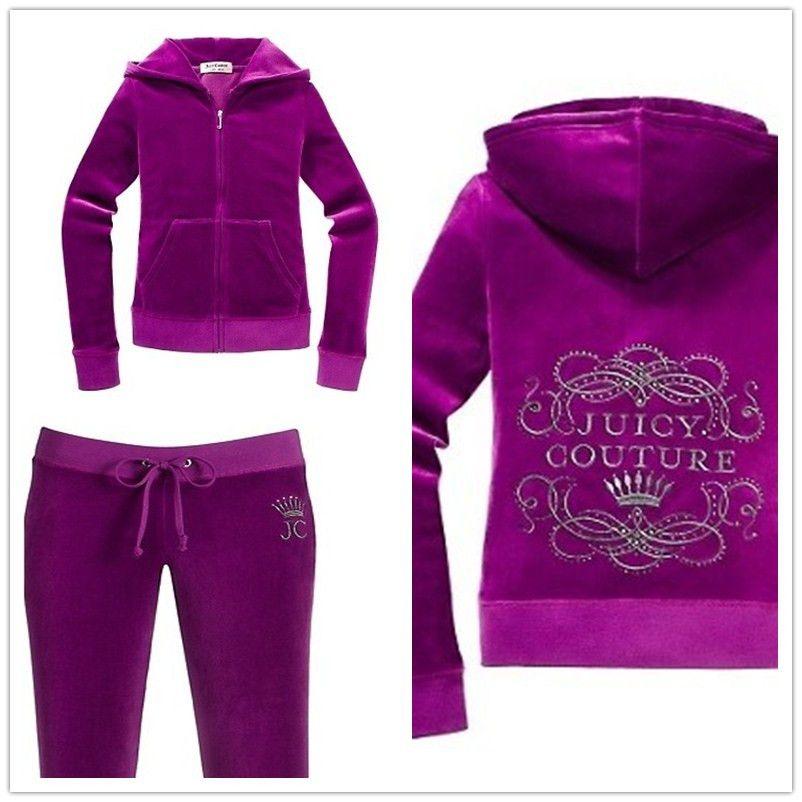 Juicy Couture Purple Velour tracksuits JCF0110  JC0560  -  75.62   Cheap  Juicy Couture Handbags 63f201e90d7e